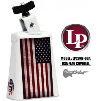 LP Collect-A-Bell USA Flag Cowbell