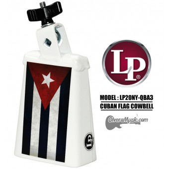 LP Collect-A-Bell Cuban Flag Cowbell
