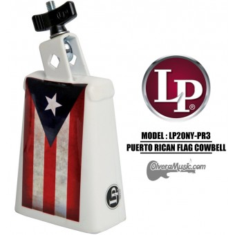 LP Collect-A-Bell Puerto Rican Flag