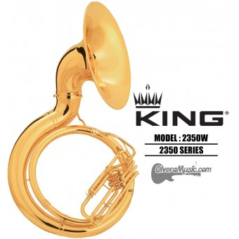 KING Tuba de Metal Tono de Sibemol - Lacquer