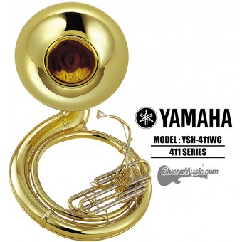 YAMAHA Tuba de Metal Tono de Sibemol - Lacquer