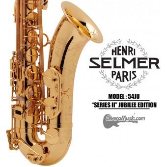"""SELMER PARIS """"Serie II"""" Edición Jubilee Saxofón Tenor Profesional"""