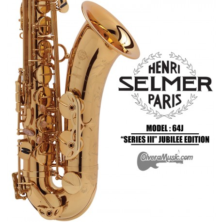 "SELMER PARIS ""Serie III"" Jubilee Edition Professional Bb Tenor Saxophone"
