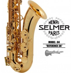 "SELMER PARIS 84 ""Reference 36"" Professional Bb Tenor Saxophone"