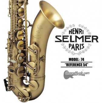 "SELMER PARIS 74 ""Reference 54"" Professional Bb Tenor Saxophone"