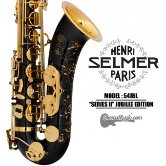 "SELMER PARIS ""Series II"" Jubilee Edition Professional Bb Tenor Saxophone - Black Lacquer"
