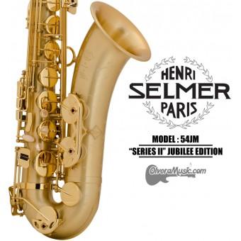 """SELMER PARIS """"Serie II"""" Edición Jubilee Saxofón Tenor Profesional - Mate"""