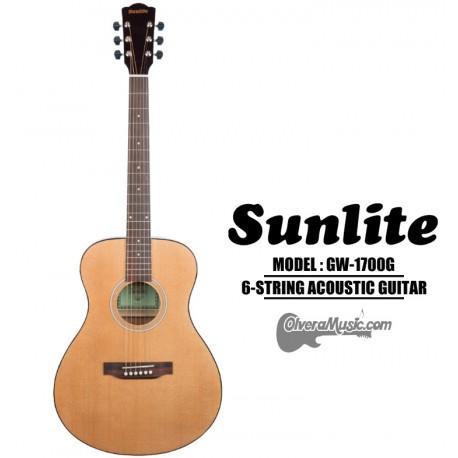 SUNLITE Full Sized Acoustic Guitar - Natural