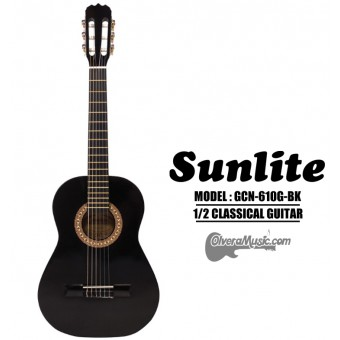 SUNLITE 1/2 Classical Guitar - Black