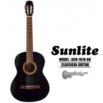 SUNLITE Full Sized Classical Guitar - Black