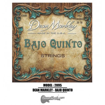 Dean Markley (2095) Bajo Quinto Strings