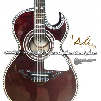 ALI ACHA Traditional Bajo Quinto - Flamed Maple
