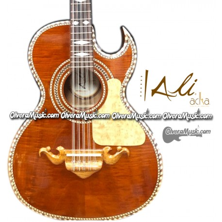 ALI ACHA Traditional Bajo Quinto - Cedar Wood