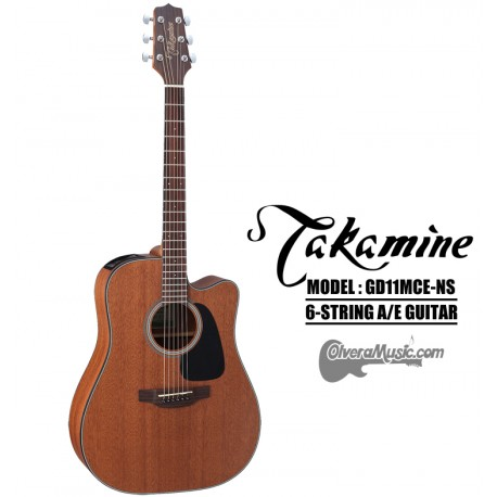 TAKAMINE GD Series Acoustic/Electric 6-String Guitar - Mahogany