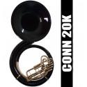 CONN 22K Fiberglass Sousaphone Black Matte - (REFURBISHED)