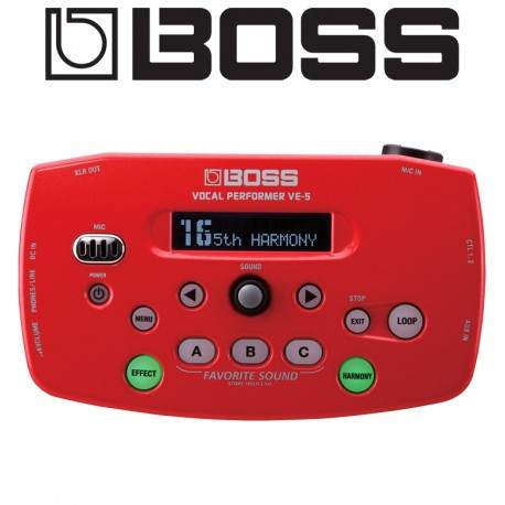 BOSS Vocal Performer Effects Processor