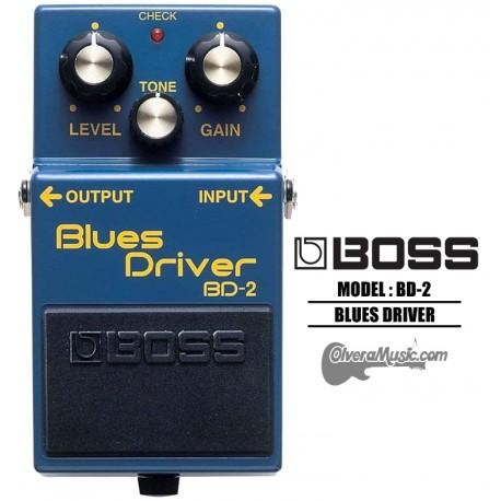 BOSS Blues Driver Distortion Guitar Effects Pedal