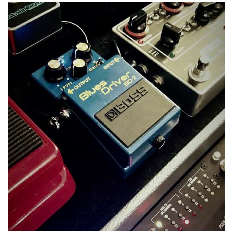 boss blues driver distortion guitar effects pedal olvera music. Black Bedroom Furniture Sets. Home Design Ideas