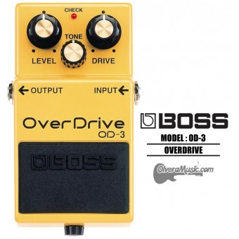 BOSS OverDrive Sustain Guitar Effects Pedal