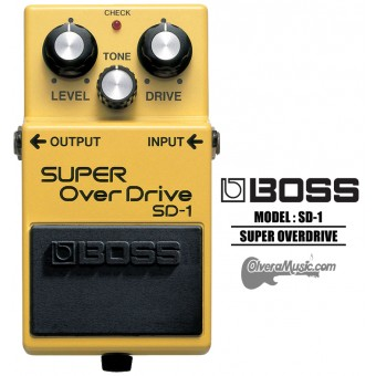 BOSS Super OverDrive - Guitar Effects Pedal