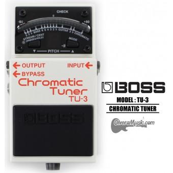 BOSS Afinador Cromatico Pedal de Efectos para Guitarra