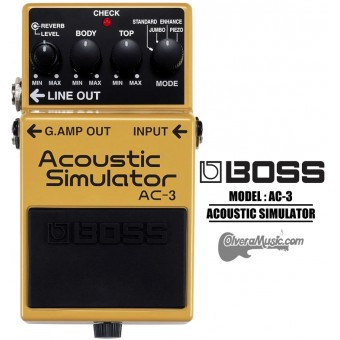 BOSS Acoustic Simulator - Guitar Effects Pedal
