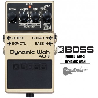 BOSS Dynamic Wah - Guitar Effects Pedal