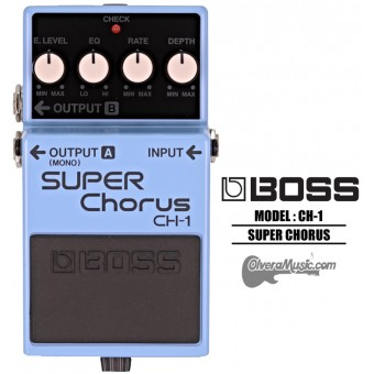 BOSS Stereo Super Chorus - Guitar Effects Pedal