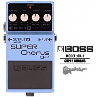 BOSS Stereo Super Chorus - Guitar Effects Pedal