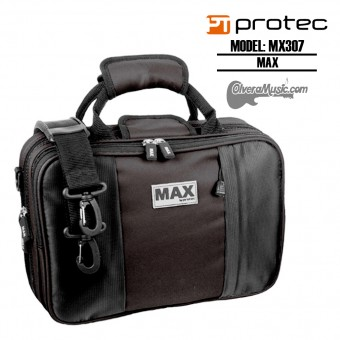 PROTEC MAXX Estuche p/Clarinete Sib -  Negro