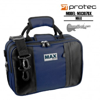 PROTEC MAX Bb Clarinet Case - Blue