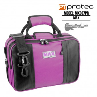 PROTEC MAX Bb Clarinet Case - Purple