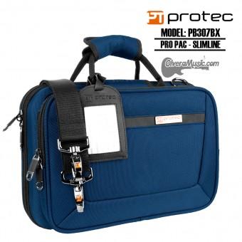 PROTEC Pro Pac Slimline Estuche p/Clarinete Sib - Azul