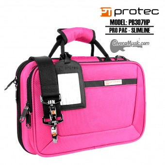 PROTEC Pro Pac Slimline Bb Clarinet Case - Hot Pink