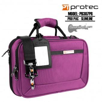 PROTEC Pro Pac Slimline Estuche p/Clarinete Sib - Morado