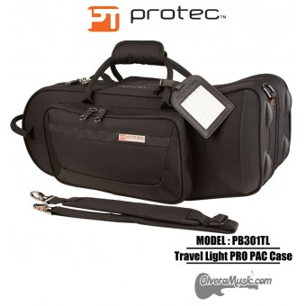 PROTEC Pro Pac Travel Light Trumpet Case