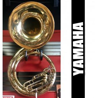 YAMAHA YSH411 Metal Sousaphone Lacquer Finish - USED