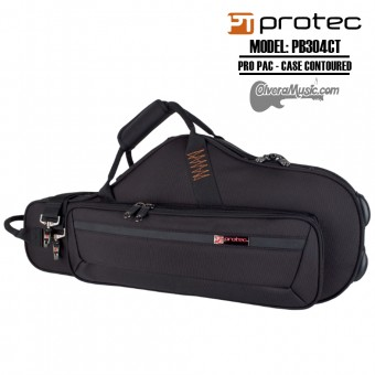 PROTEC PRO PAC Case-Contoured Algo Saxophone - Black