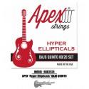 "APEX ""Hyper Ellipticals"" Bajo Quinto Strings - Bronze Set"
