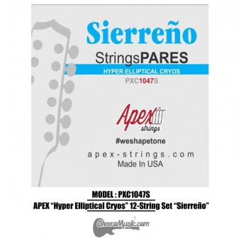"APEX ""Hyper Elliptical Cryos"" LT Bronze ""Sierreño"" 12-String Set"