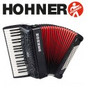 HOHNER Bravo III 96 Piano Accordion 7-Registers - Jet Black