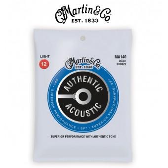 MARTIN SP 80/20 Bronze Light Authentic Acoustic Guitar Strings