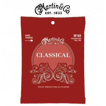 MARTIN Silver-Plated Ball-End Classical Guitar Strings - High Tension