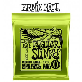 Ernie Ball (2221) Regular Slinky Nickel Wound Electric Guitar Strings