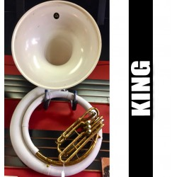 KING Fiberglass Sousaphone - USED