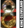 KING Cleveland Metal Sousaphone Lacquer/Nickel Finish - USED