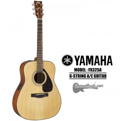 YAMAHA F-Series Acoustic/Electric 6-String Guitar