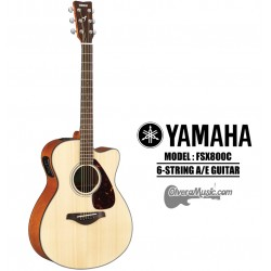YAMAHA Small Body Cutaway A/E 6-String Guitar