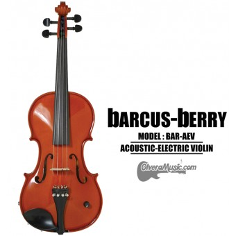 BARCUS-BERRY Vibrato AE Series Violin Outfit - Natural