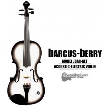 BARCUS-BERRY Vibrato AE Series Violin Outfit - Tuxedo